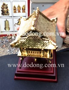 Tượng chùa một cột quà tặng bằng đồng – Qùa tặng