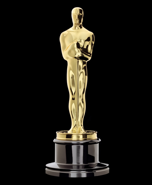 Mẫu tượng đồng giải Oscar mạ vàng