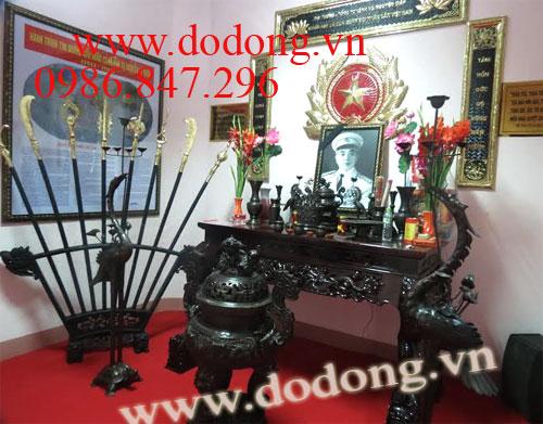 Thiết kế trang trí phòng thờ Đại tướng – Hồ Chí Minh tại Vùng 4 Hải quân – dodong.vn