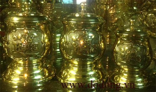 Chóe đồng đựng nước bày bàn thờ gia tiên,đình chùa,từ đường