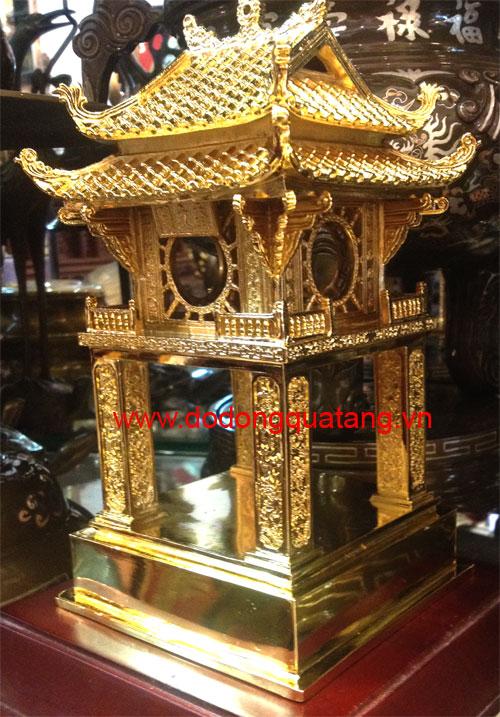tượng đồng văn miếu mạ vàng