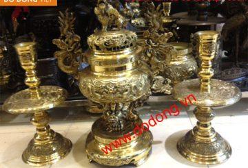 Đồ thờ đồng đại phát – dodong.vn