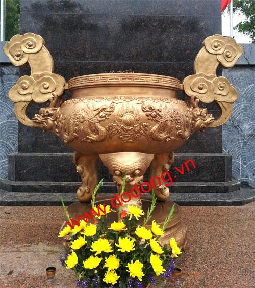 Lư đồng dâng hương đài tưởng niệm,nghĩa trang,đền thờ – đồ đồng việt