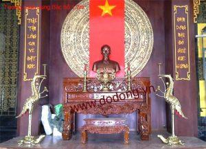 Tượng đồng bán hồ đúc đồng đỏ cao 120cm