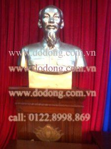 Tượng đồng chân dung Chủ tịch Hồ chí minh