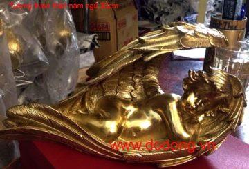 Qùa tặng phong thủy ngày tết – ngựa dát vàng 24k
