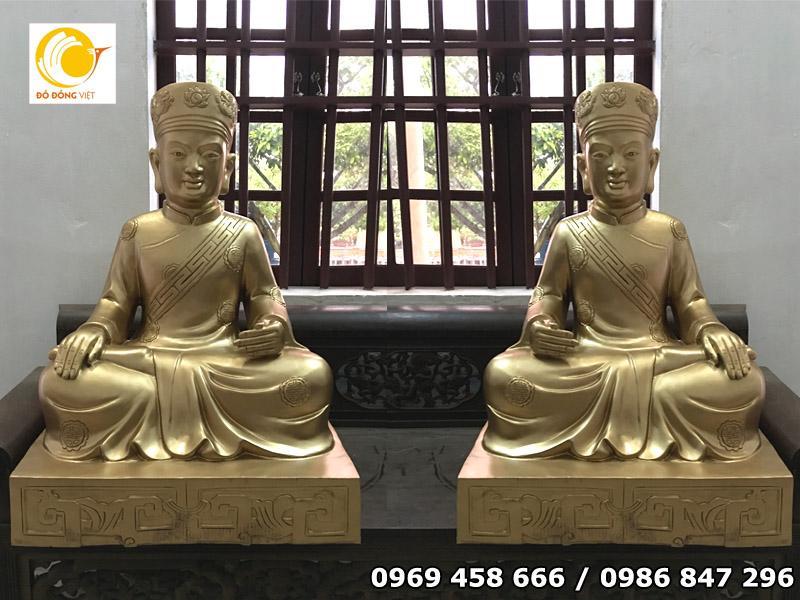 Tượng Phật được đúc bằng đồng - Đồ đồng Việt