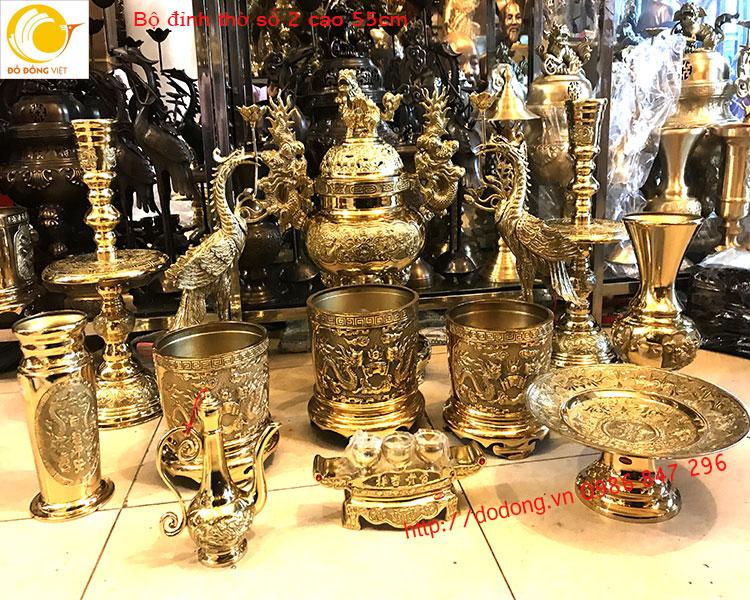 Một bộ đồ thờ đầy đủ trên bàn thờ gồm những gì?