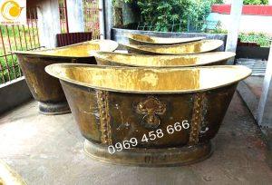 Bồn tắm đồng và tác dụng trong ngành làm đẹp