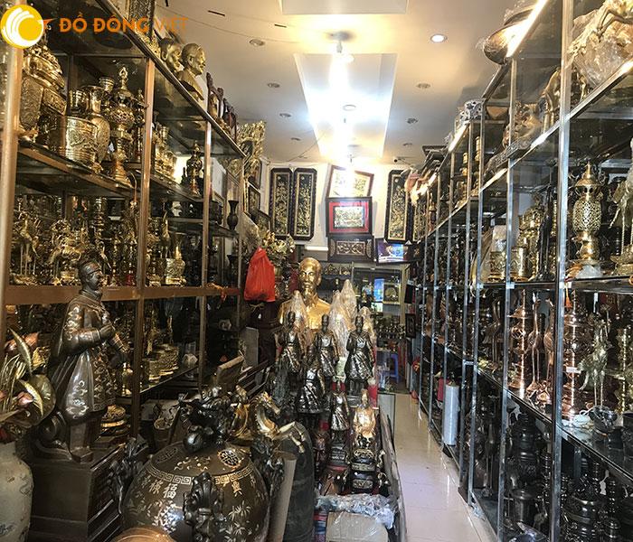 Cửa hàng đồ thờ phong thủy bằng đồng uy tín hà nội