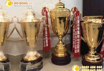 Công ty làm Cup bóng đá bằng đồng đẹp bắt mắt giá rẻ chất lượng