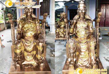 Tượng đồng Trần Khánh Dư, tượng đồng Trần Hưng Đạo