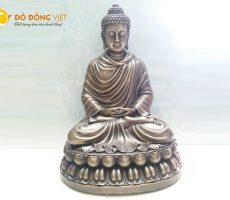 Đúc tượng Thích Ca Mô Ni bằng đồng liên hề Đồ đồng Việt