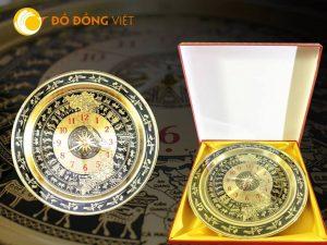 Quà Tết xuân Kỷ Hợi 2019- đồng hồ bản đồ Việt Nam treo tường