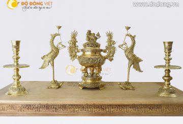 Có nên mua bộ đỉnh đồng ngũ sự Dapha, đồ thờ Dapha có tốt không?