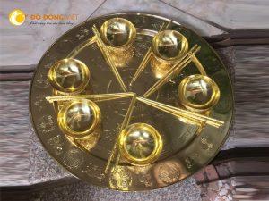 Mâm đồng thờ cúng dk 52cm,60cm