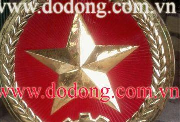 Sản xuất huy hiệu,quân hiệu bằng đồng uy tín