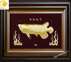 Tranh cá kim long,ý nghĩa cá kim long phong thủy