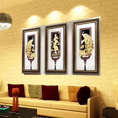 Tranh vàng, quà vàng, tranh vàng treo phòng khách0