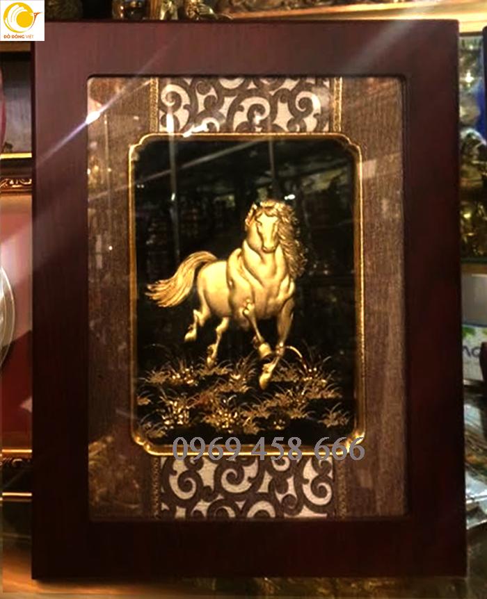 tranh ngựa phong thủy đẹp