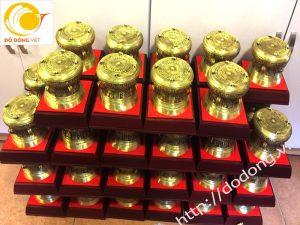 Trống đồng 12cm quà tặng hội nghị BV Bạch Mai