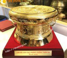 Các đường kính trống mạ vàng làm quà tặng của Đồ đồng việt
