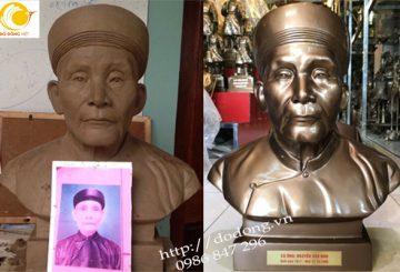 Nghề đúc tượng chân dung bằng đồng ở Việt nam