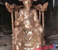 Đúc tượng Thái sư Trần thủ độ bằng đồng cao 1,4m