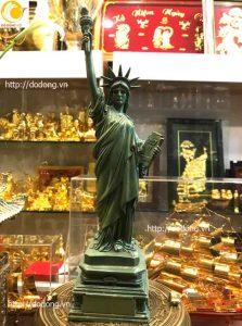 Tượng đồng nữ thần tự do nước Mỹ 38 cm
